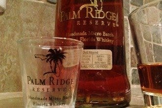 Finding Florida Whiskey at Palm Ridge Reserve