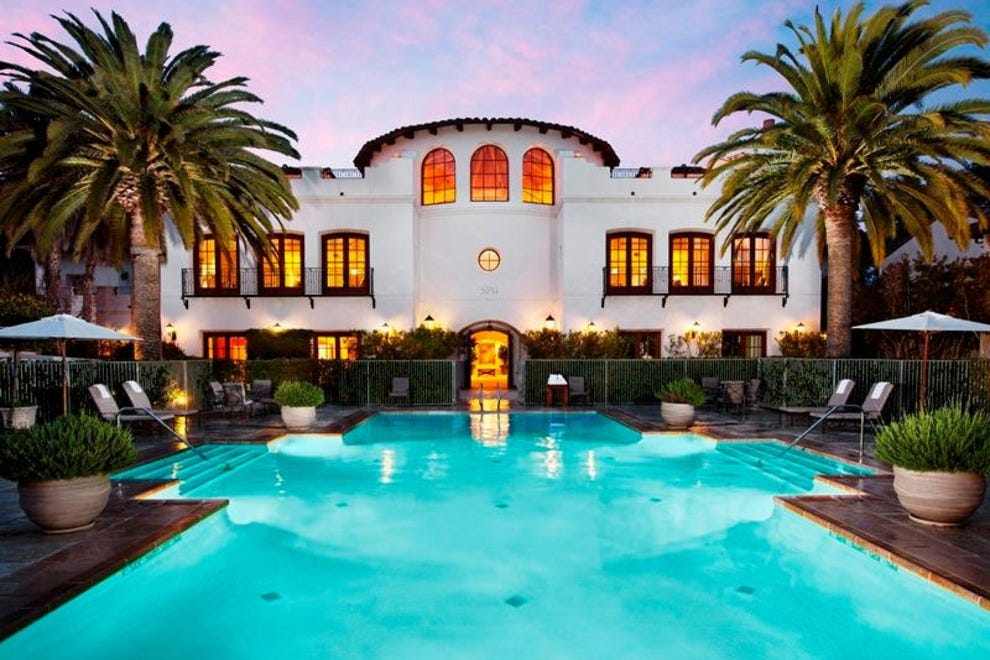 Luxury Spa Hotels Southern California
