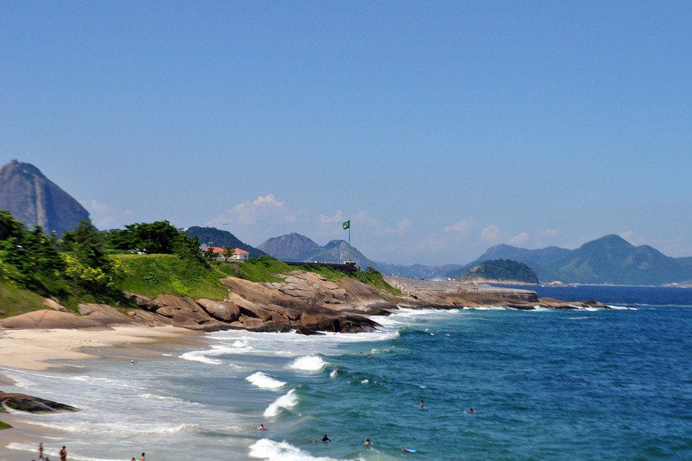 Arpoador Inn has one of the most beautiful beachfront locations in Rio