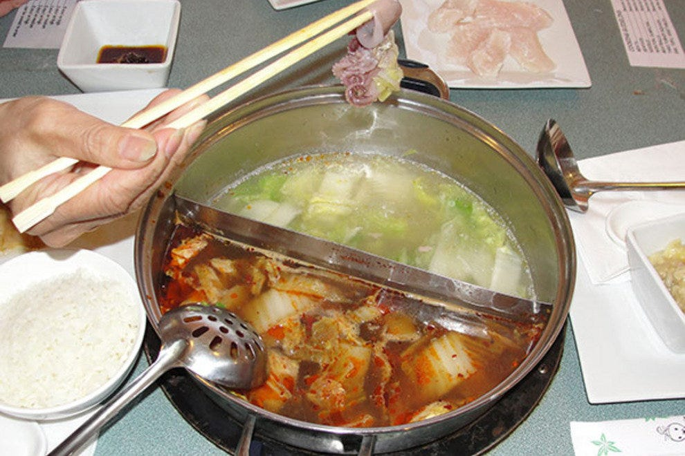 At Hotto Potto, the soup's ingredients, flavor and heat are in your hands