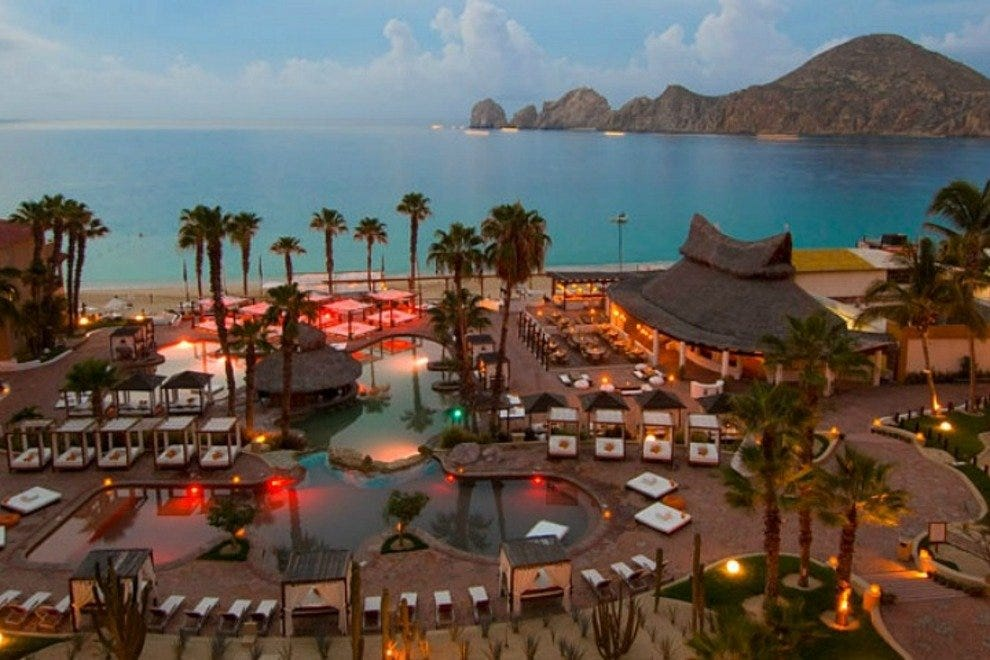 Nikki Beach at ME Cabo Resort is home to the Los Cabos area's hippest poolside party scene