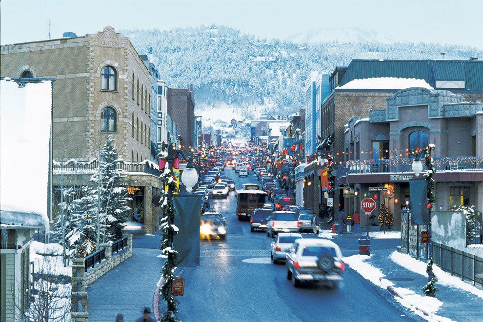 Downtown Park City