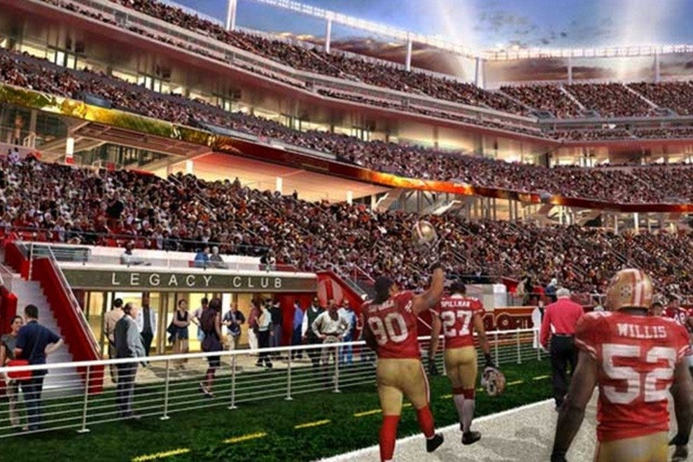 Fictional rendering of what a future 49ers celebration could look like