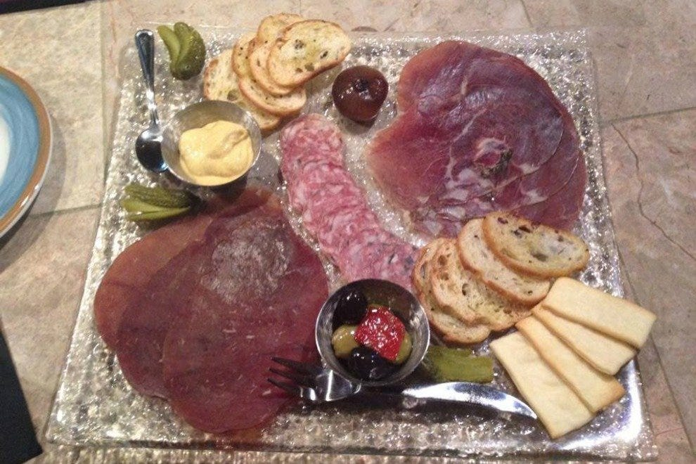 Charcuterie platter at Fire and Smoke