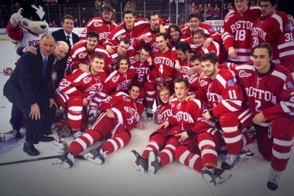 BU Men's hockey team