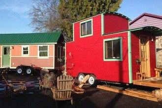 Caravan: The Tiny House Hotel in Portland's Alberta Arts District