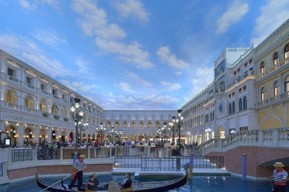 Gondola Rides At The Venetian Photo Courtesy Of Las Vegas