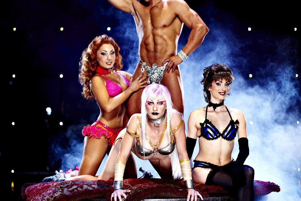 Zumanity, The Sensual Side of Cirque du Soleil