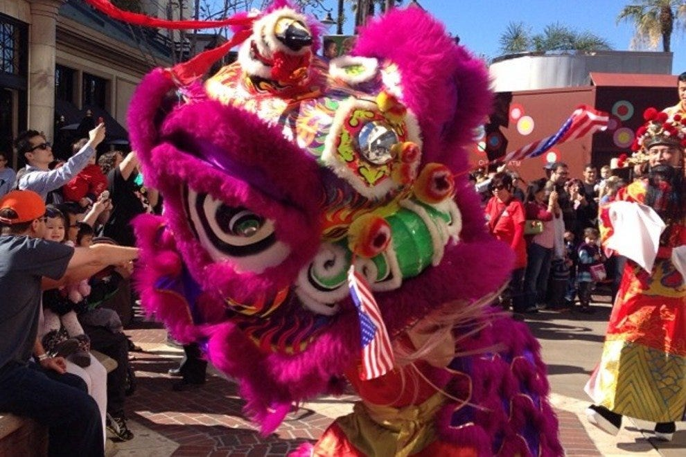Lunar New Year celebrations at The Americana at Brand
