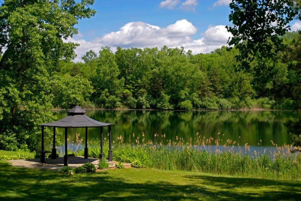 Relax by the water at Spring Lake Winery