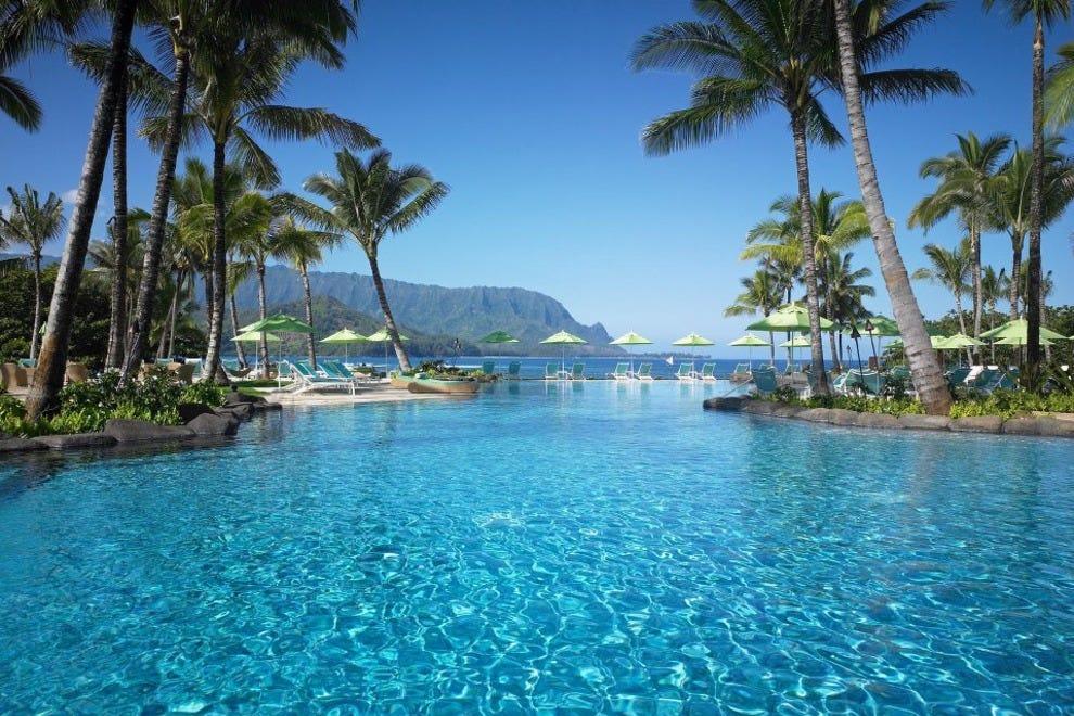 hotel slideshow beach hotels in kauai