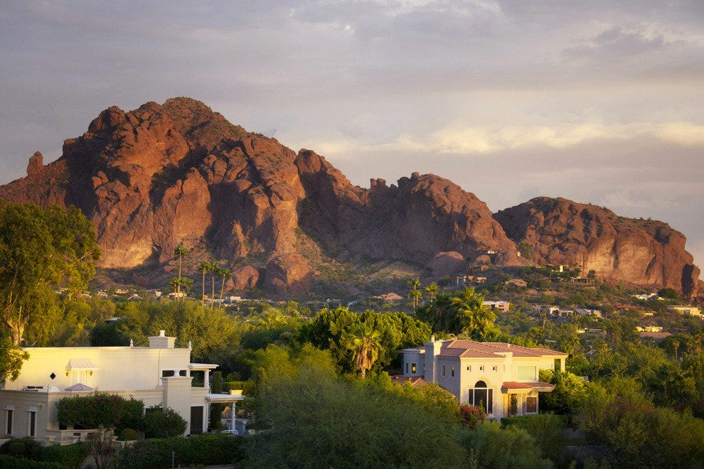 Camelback Mountain in Scottsdale