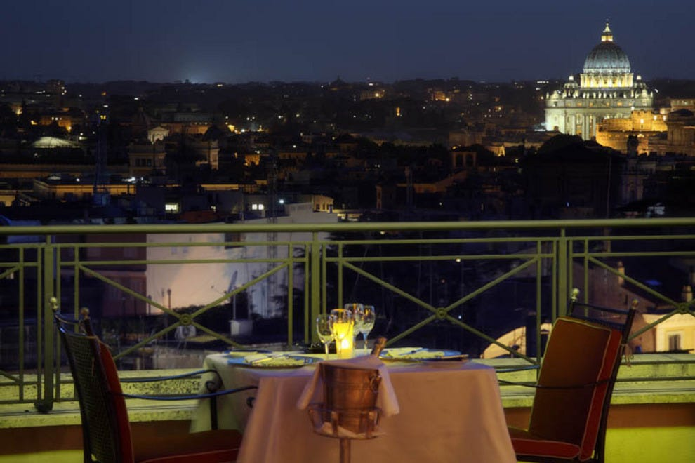 Best Rooftop Bars at Rome's Premier Hotels: Hotels Article ...