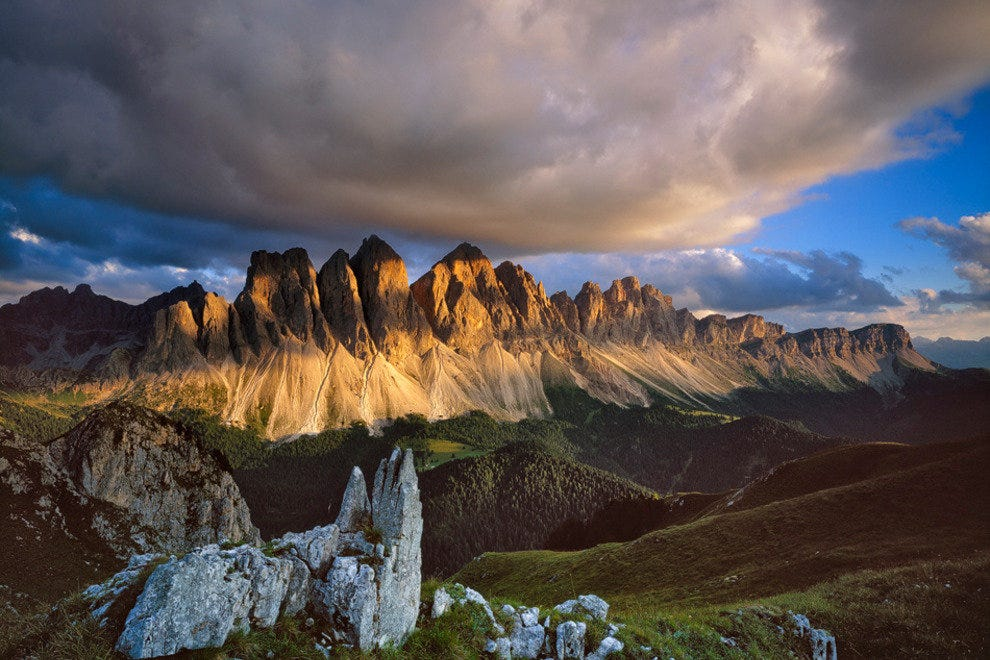 Alto Adige in the Dolomites
