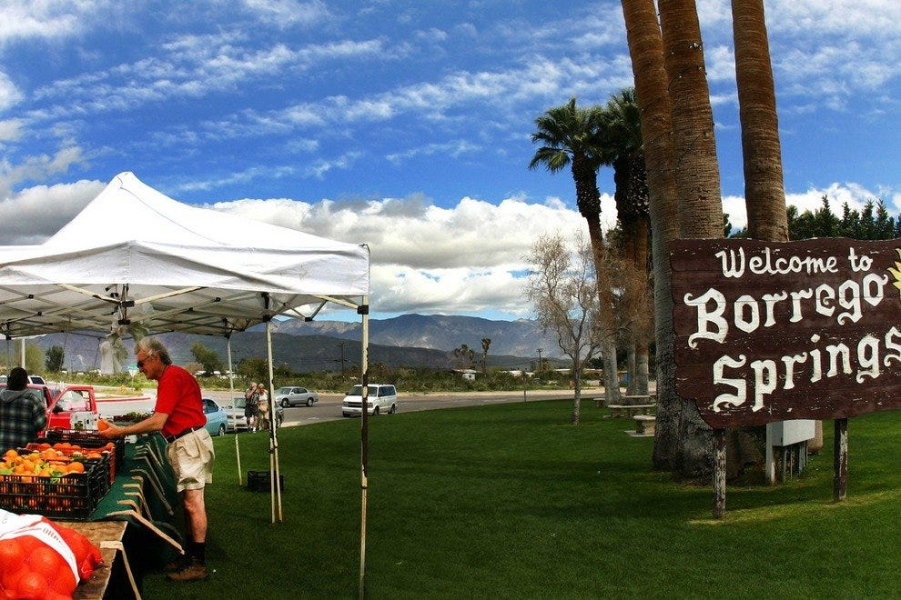 Eclectic Borrego Springs: from Grapefruit to Art Galleries