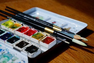 'Wine' Down with Watercolors at Municipal Winemakers This Spring