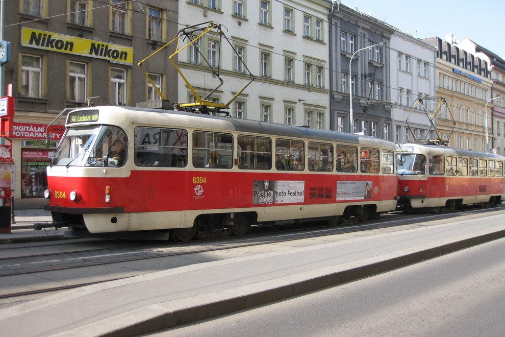 Trams in Prague