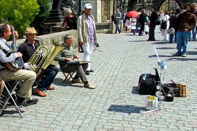 Charles Bridge Dixieland Band