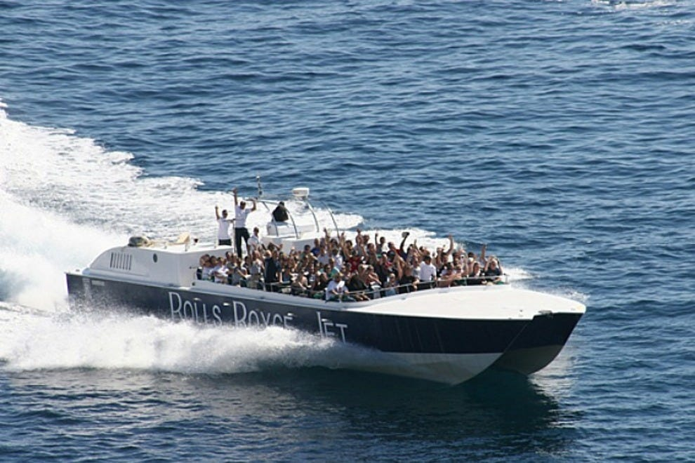 Rolls Royce Fast Boat Tour Cabo San Lucas Attractions
