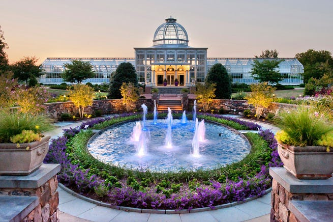 Best public garden winners 2014 10best readers 39 choice Lewis ginter botanical gardens