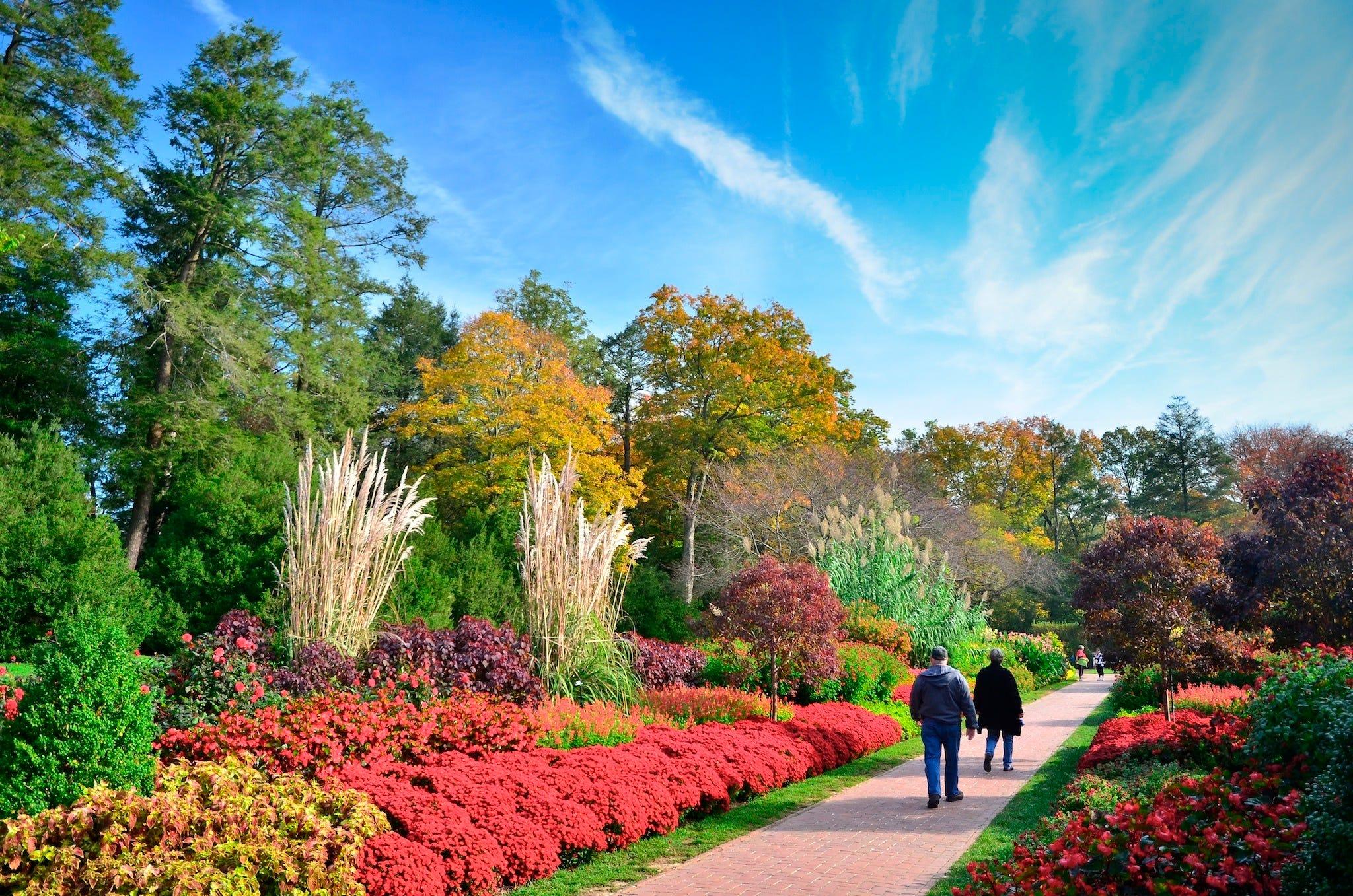 Best public garden winners 2014 10best readers 39 choice - Places to eat near longwood gardens ...