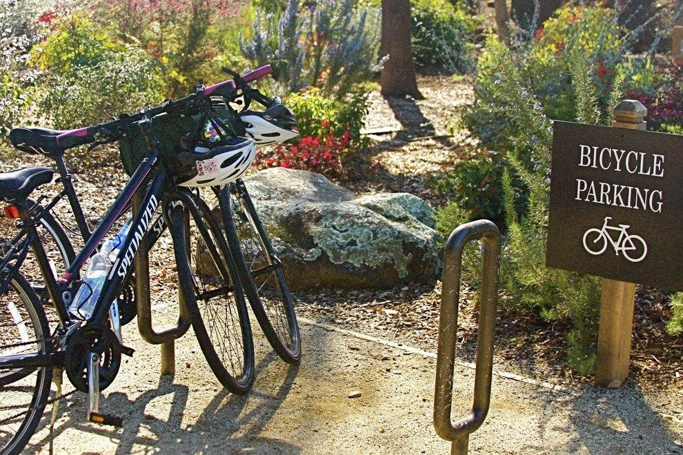 Rent a bike or bring your own for winery hopping.