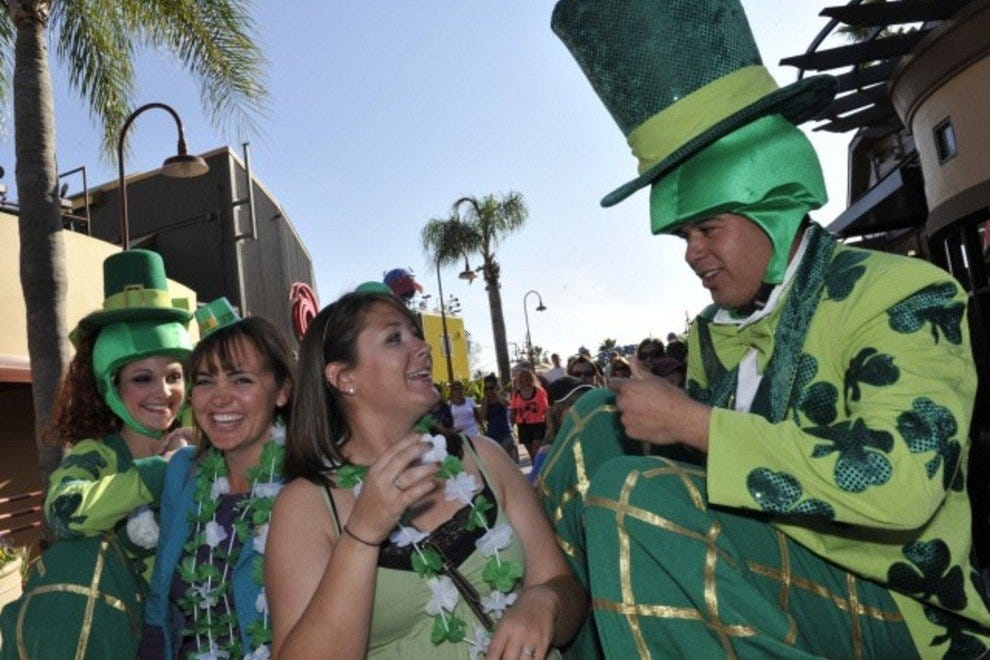 Downtown Disney will be awash in green from March 7 -17 as the Might St. Patrick's Day Festival takes center stage.