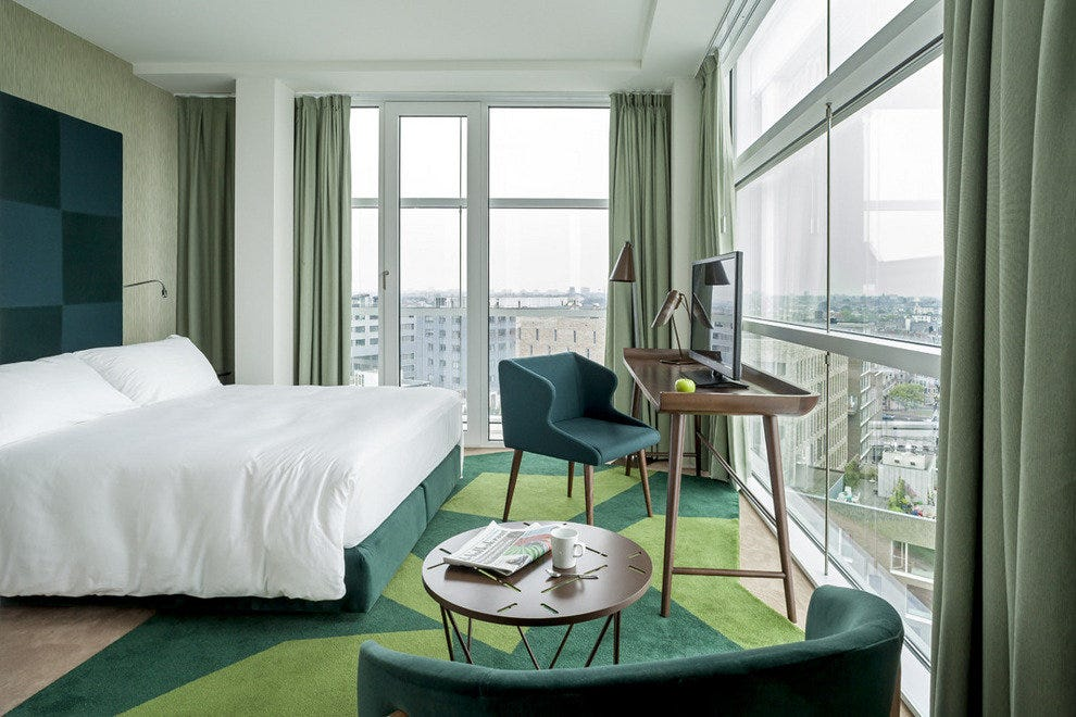 A room at Room Mate Aitana hotel in Amsterdam