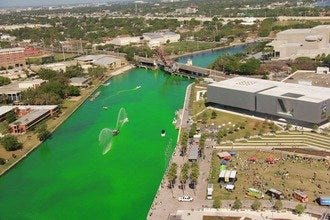 Tampa Turns Green for St. Patrick's Day Celebration