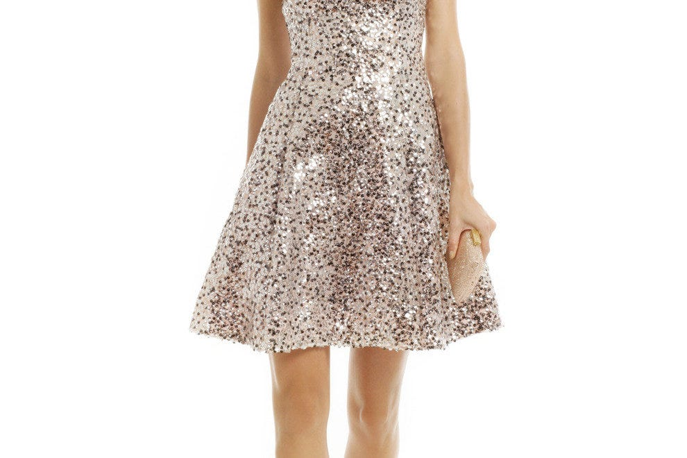 Guests can turn heads for a night in this dazzling $798 Kate Spade New York dress for just $40.