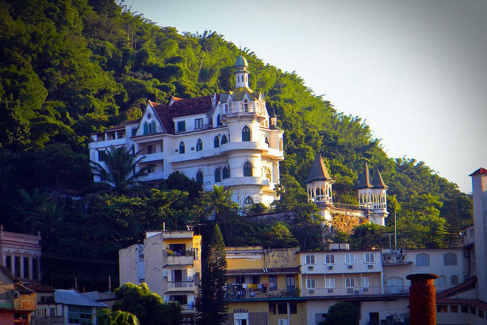 Santa Teresa is home to stunning historical buildings such as this fairytale-esque castle.