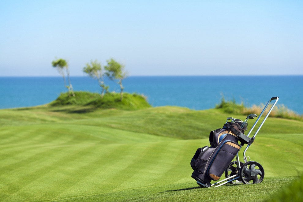 Where's your ideal golf getaway?