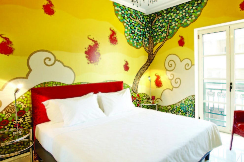 Family Graffiti guestroom at Pallas Athena