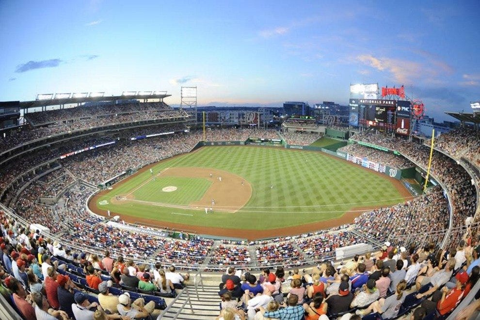 Nationals Stadium in all its glory