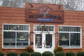 Café at Williams Hardware: Eat, Shop along Greenville's Swamp Rabbit