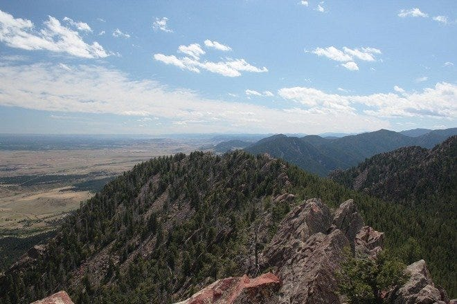 Hiking Trails in Boulder