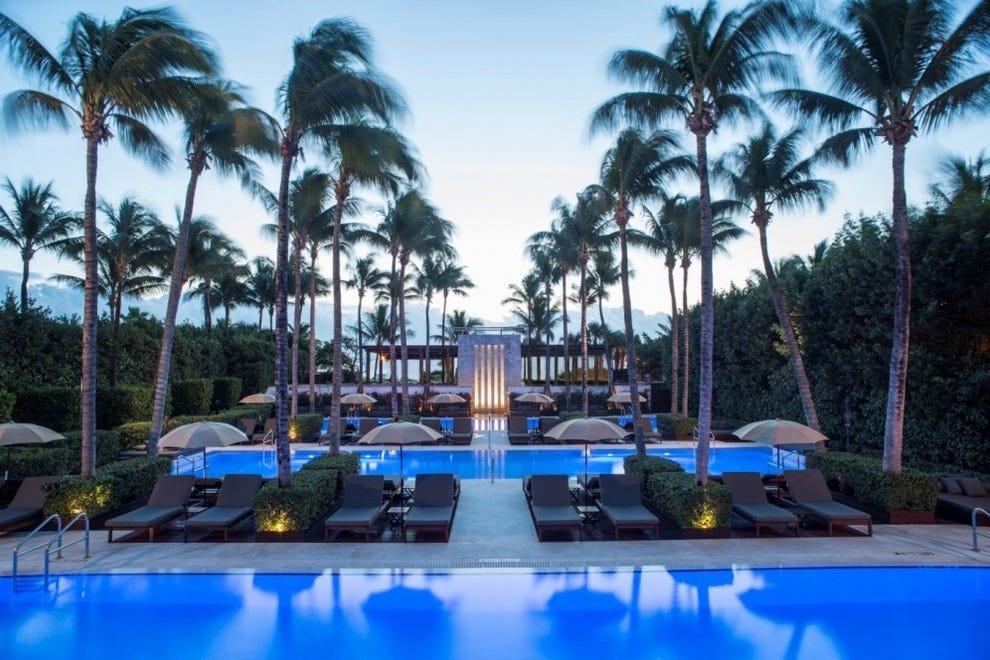 Pool at The Setai, Miami