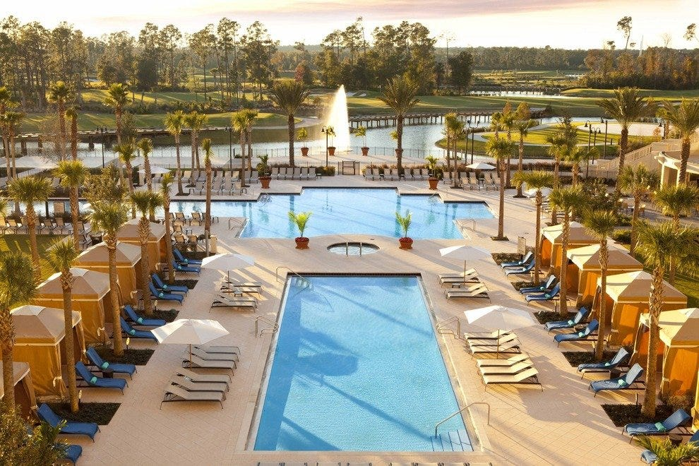 View from the Waldorf Astoria Orlando