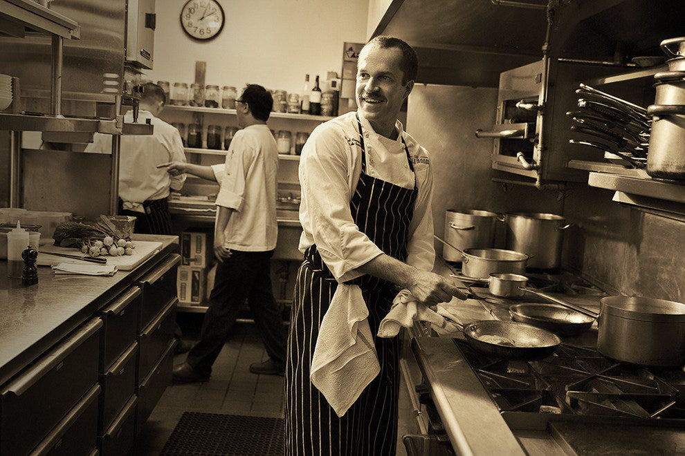 Daniel Causgrove is the new chef de cuisine in the Grill Room at Windsor Court Hotel.