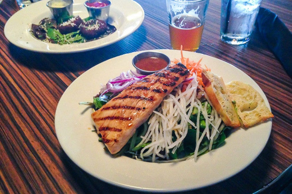 Fresh, healthy salads are now an option at La Jolla Brewing Company.