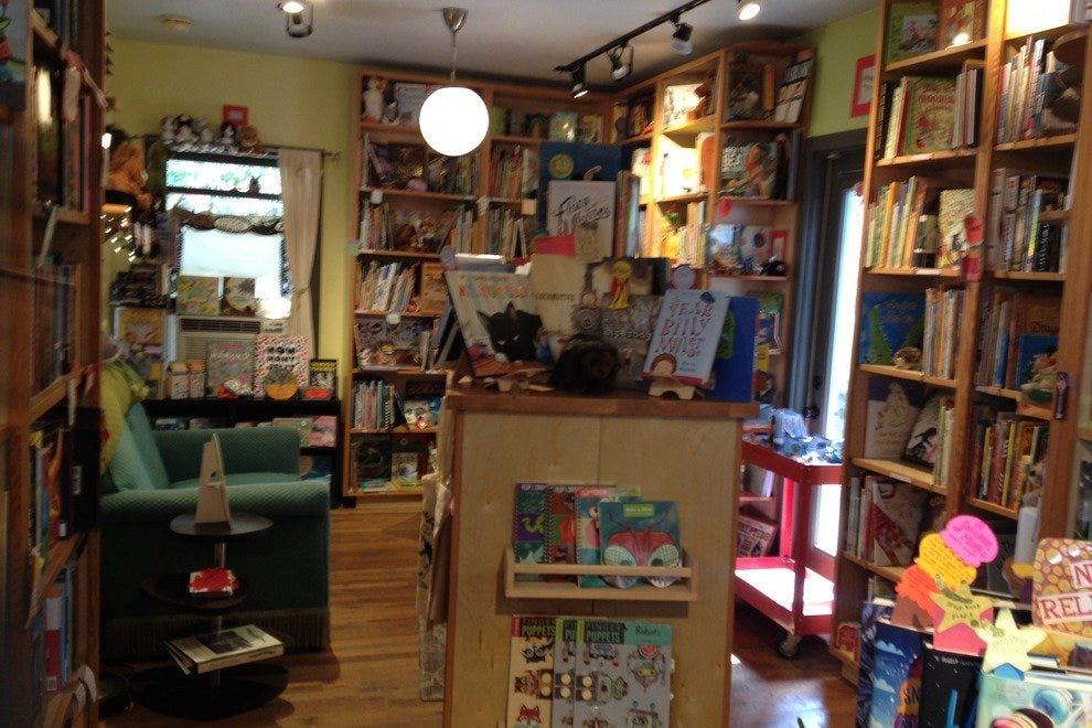 Green Bean Books, a children's book store