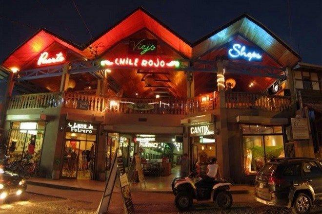 Restaurant Slideshow Late Night In Costa Rica