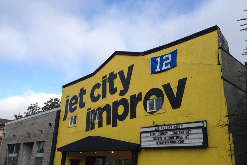 Jet City Improv brings laughs to the U District.