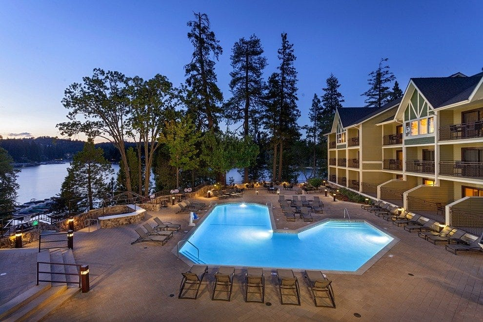 """Drive, Dine and Dream"" at Lake Arrowhead Resort & Spa - Lake Arrowhead, Calif."