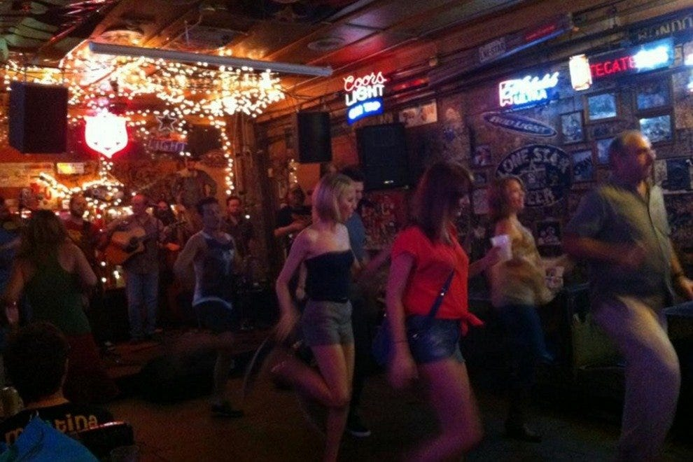 Dancing at Adair's