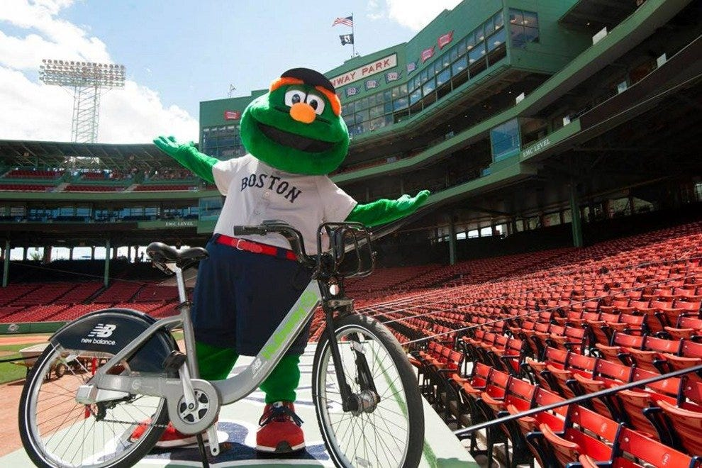 Hubway, Wally and Fenway