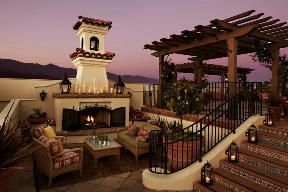 santa barbara luxury hotels in santa barbara ca luxury