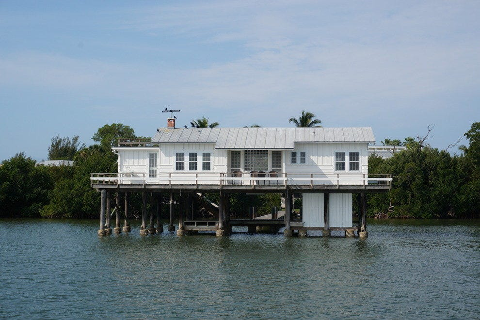 Learn about the famous residents who discovered and lived along Southwest Florida waterways, during a Captiva Cruises tour in Estero Bay