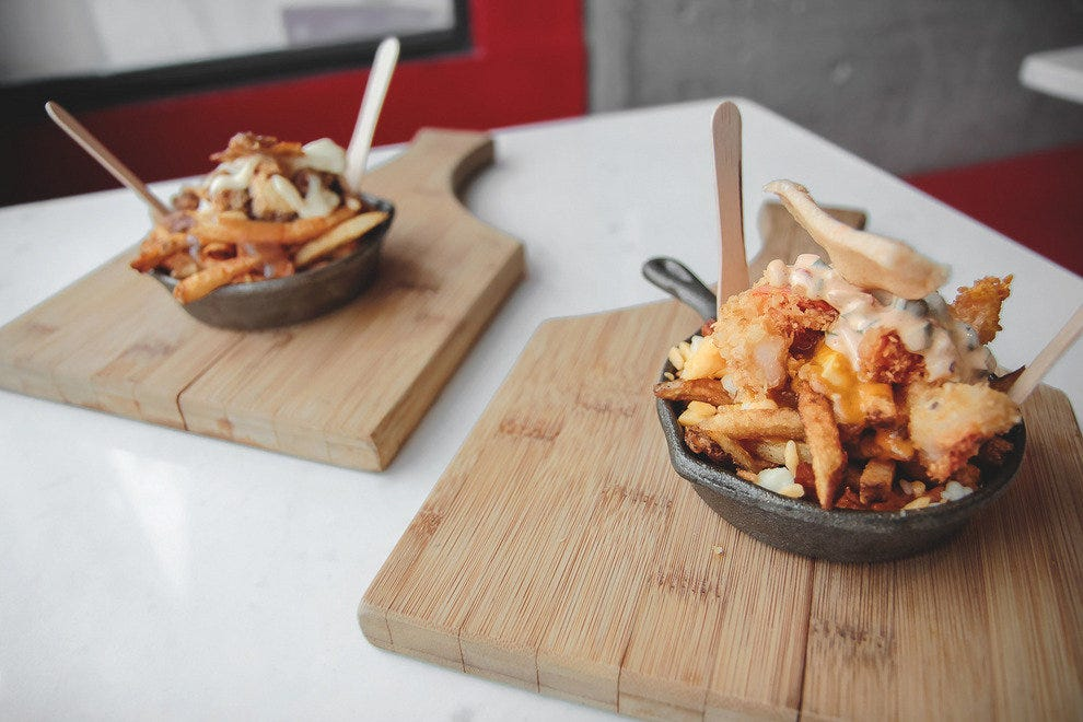 The only thing better than one poutine is two poutines