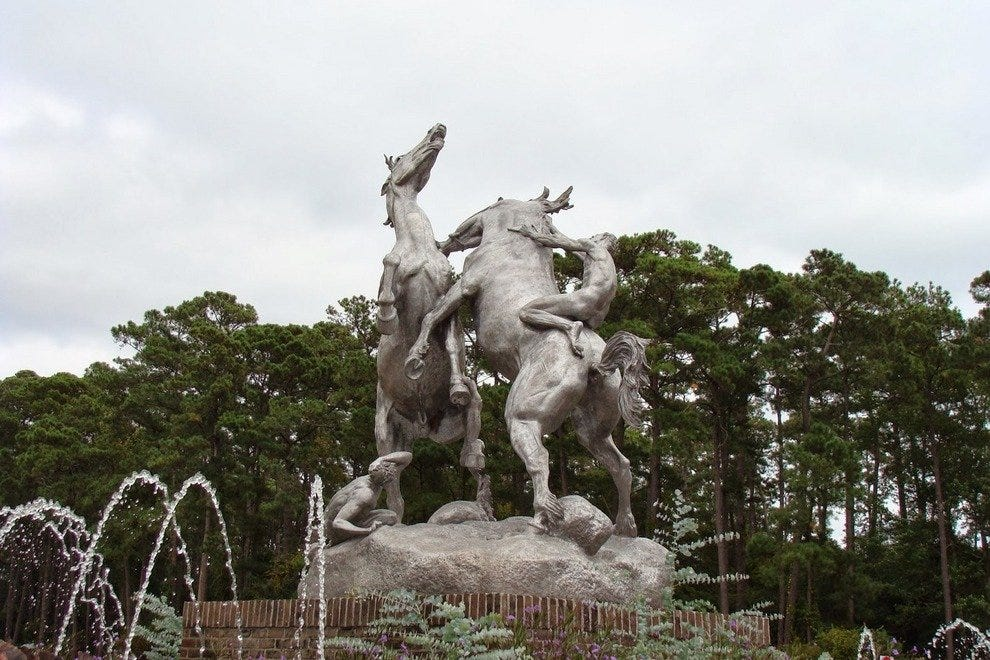 Brookgreen Gardens' entrance